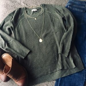 Green LOFT Outlet Sweater